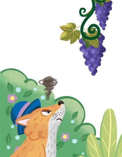 libro 3 - la volpe e l'uva