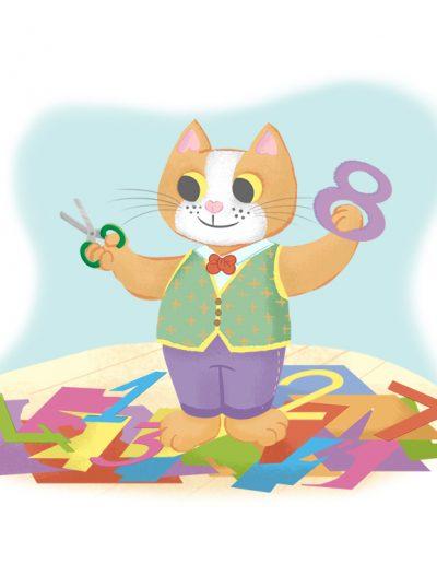 gatto otto