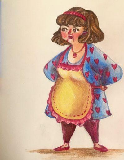 """la signora Pasqualina, detta """"sciura Lina"""""""